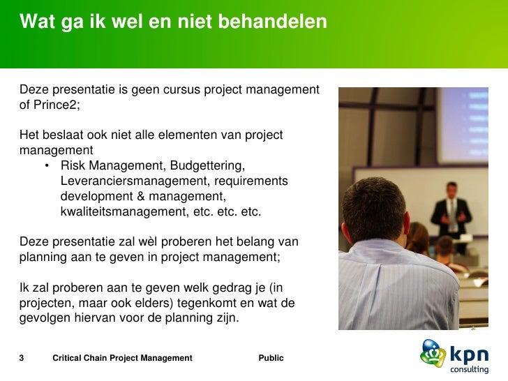 Critical Chain Project Management Slide 3