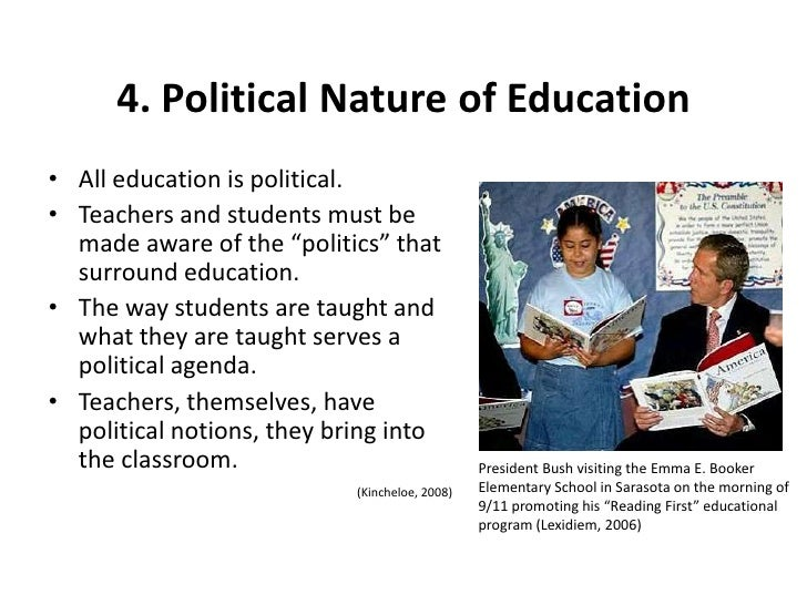 political nature of education pdf