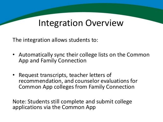 common app early decision agreements integration overview 9