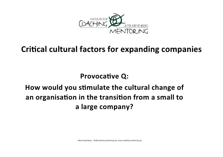 how personal and cultural factors impact Learn and revise about the various factors that can influence a lifelong  participation in sport with bbc bitesize  this cultural influence encourages  participation.