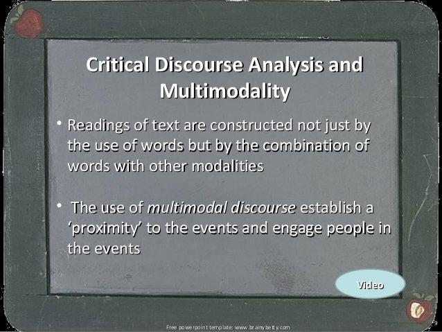 Critical discourse analysis of politica