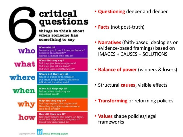 """what does critical thinking mean in science Types of critical thinking that are characteristic of differ- ent subject matter: that's what we mean when we refer to """"thinking like a scientist"""" or """"thinking like a historian""""."""