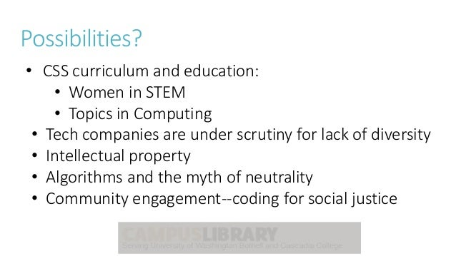 Critical Information Literacy in Computer Science/ Career Slide 3