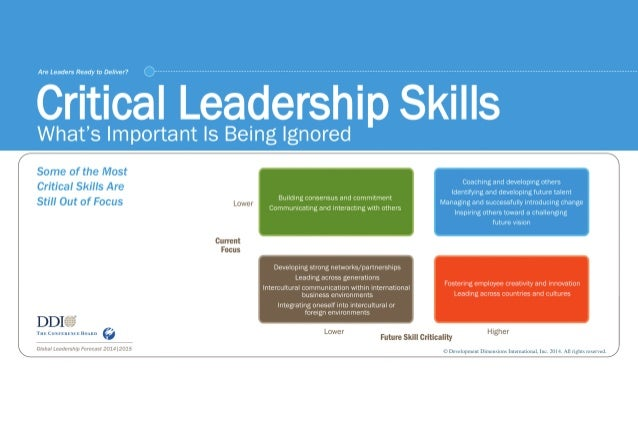 Critical Leadership Skills - GLF 2014|2015