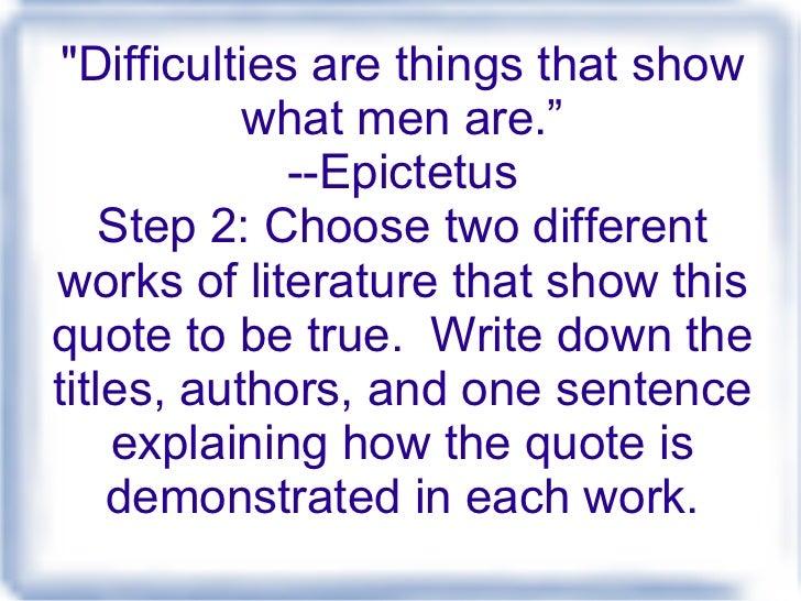 Steps to Writing the Critical Lens Essay