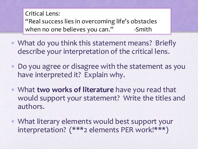critical lens essay on macbeth English 11r name: _____ macbeth & cuckoo's nest critical lens essay task 4 – critical lens your task: write a critical essay in which you discuss.