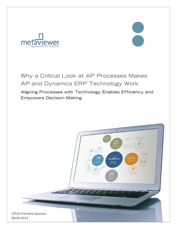 Why a Critical Look at AP Processes Makes     AP and Dynamic...