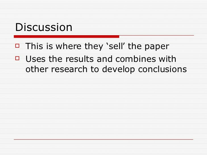 critically analysing research papers Remember that the purpose of a critical analysis is not merely to inform, but also to evaluate the worth, utility, excellence, distinction, truth.