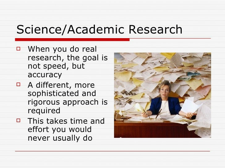 Critically Analyzing Research Resources