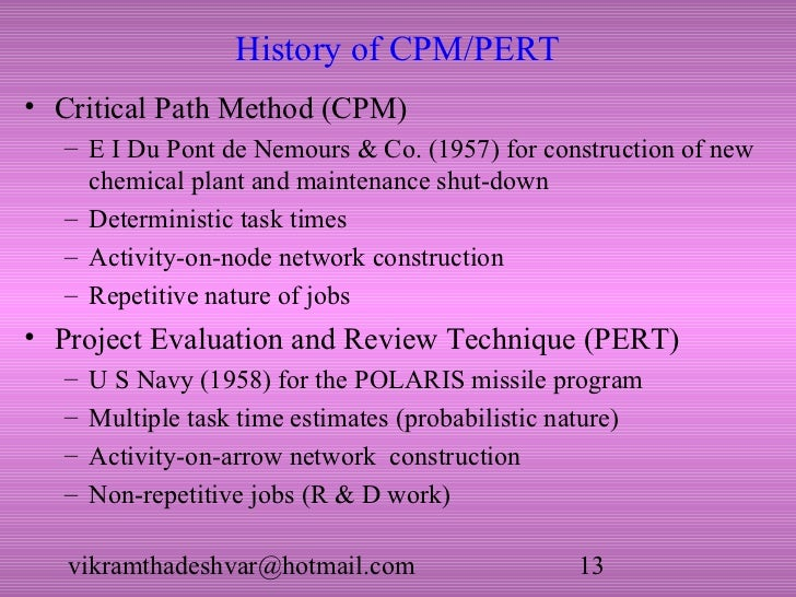 Critical path and pert 13 ccuart Images