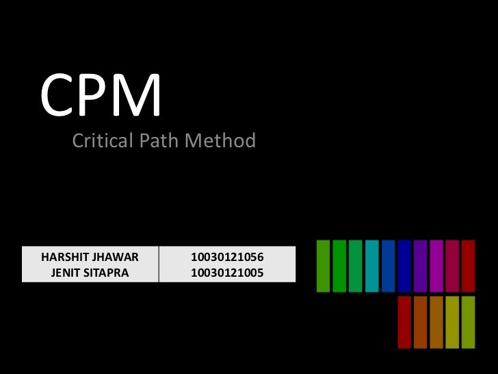 critical path method In this blog post, i will discuss the critical path with a real world example, identify the critical path in a network diagram, and calculate the float for each path.