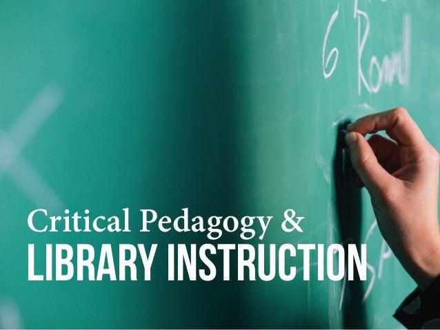 Pedagogue of freedom
