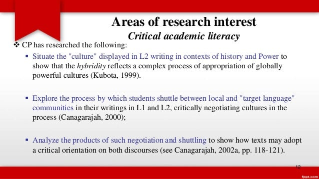 UCLA Community College Review: Academic Literacy for English Language Learners