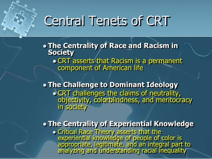 critical race theory Critical race theory one of a family of related progressive movements in the law — others include critical legal studies, latino critical legal studies (lat/crit.