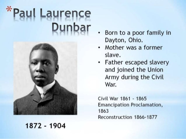 sympathy by paul laurence dunbar theme