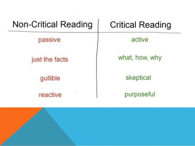 Image result for critical reading