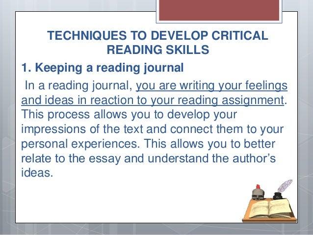 critical reading essay