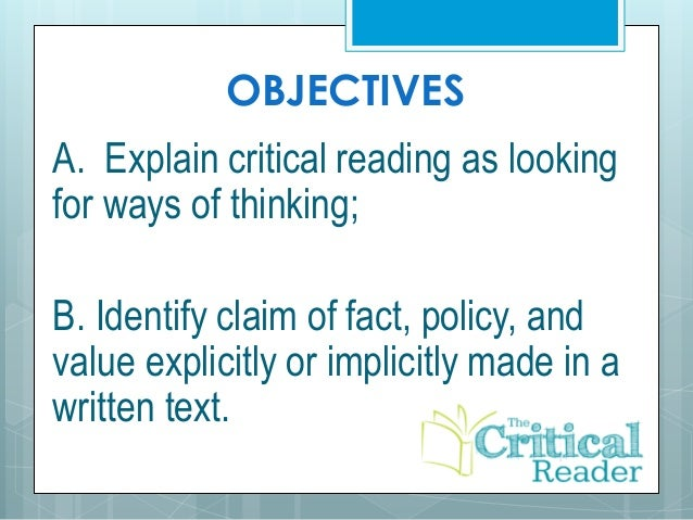 characteristics of critical thinking and logic Critical thinking: a literature review logic (lewis & smith critical thinking by pointing to characteristics of the ideal critical thinker or enumerating.