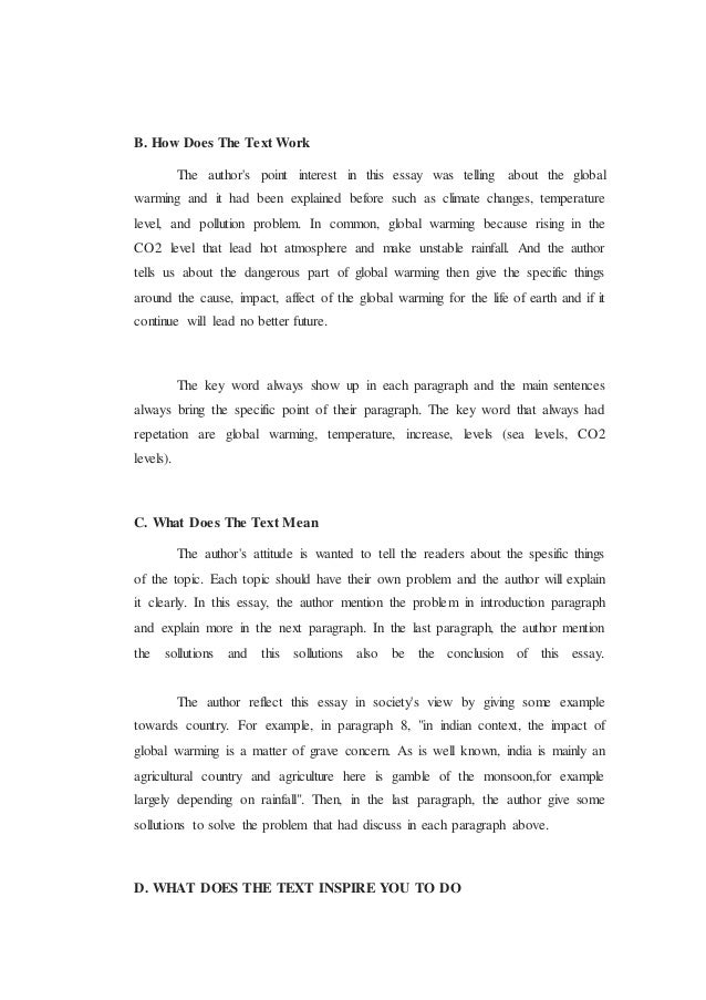 7 - Critical Reading Essay Example