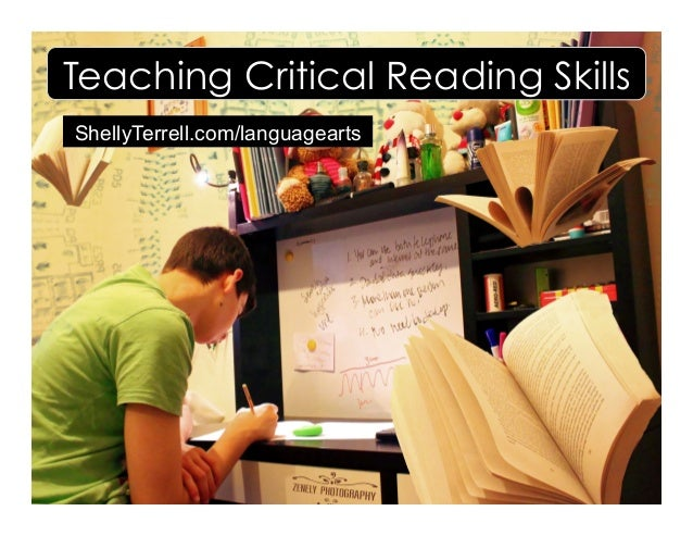 ShellyTerrell.com/languagearts Teaching Critical Reading Skills