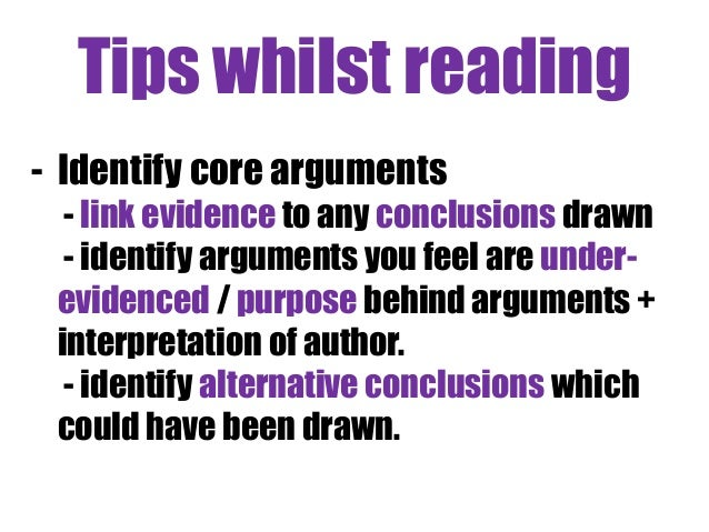 Arguments against critical thinking