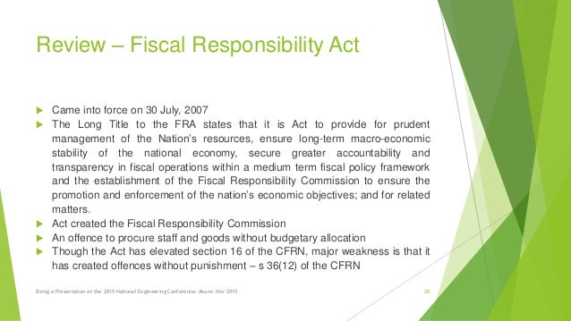 appraise macro economic objectives of fiscal policy in nigeria Fiscal policy in nigeria: a brief overview  the purpose of the nigerian fiscal policy is divided into two  there is no specific or identifiable economic growth .