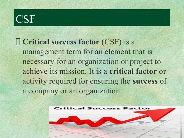 project success factors In reporting on this survey, this paper opens by describing the survey's  methodology and then details the key factors of project success that surveyed  experts.