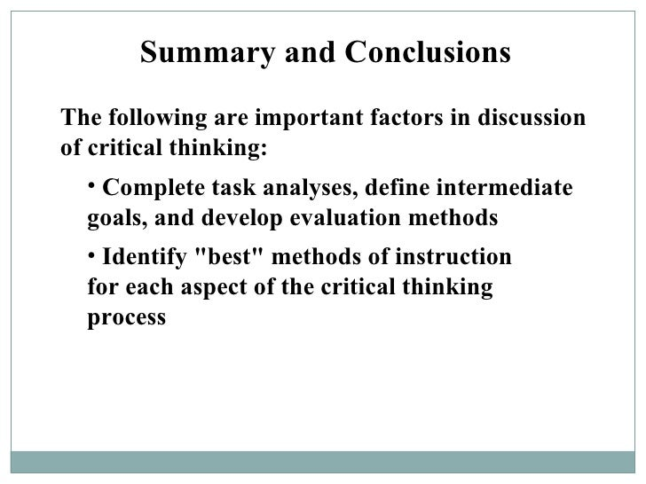 critical thinking as an important aspect of problem solving Advantages of teamwork in problem solving strategies  this is important if solutions are to be generated critically  part of critical thinking involves.