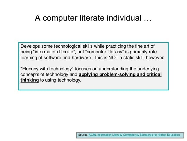 mandating computer literacy essay Digital literacy essay writing service, custom digital literacy papers, term papers, free digital literacy samples, research papers, help.