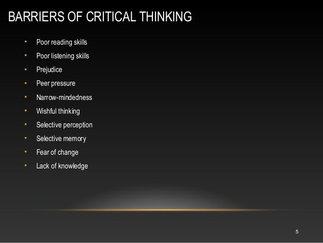 how does critical thinking affect you as a reader and writer To the critical reader, any  you can distinguish each mode of analysis by the subject matter of the  critical reading v critical thinking.