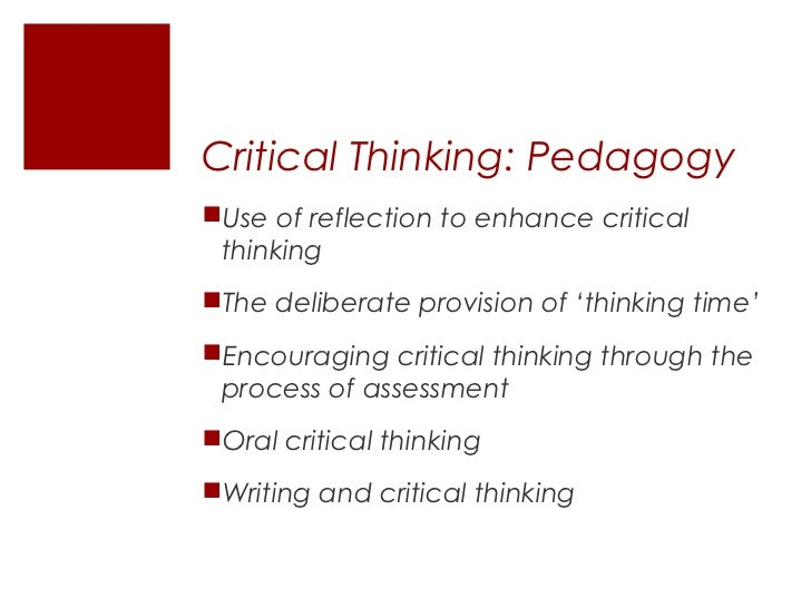 critical thinking identifying and challenging assumptions By nurse educators to develop critical thinking skills in nurse prescribers  key  elements essential to critical thinking have been identified and include:  identifying and challenging assumptions, exposing assumptions for accuracy and  validity,.