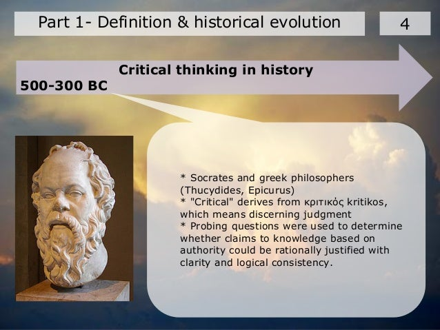 socrates father of critical thinking Socratic dialogue is an argument (or series of arguments) using the  reflective,  and critical thinking (hard-to-teach biology concepts, 2009.