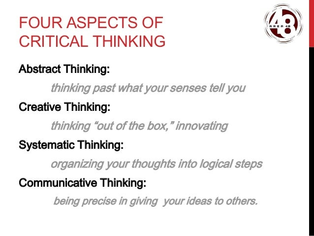 negative aspects of critical thinking They work to establish the differences between critical thinking and other important aspects of  thinking requires both critical  and negative reinforcement.