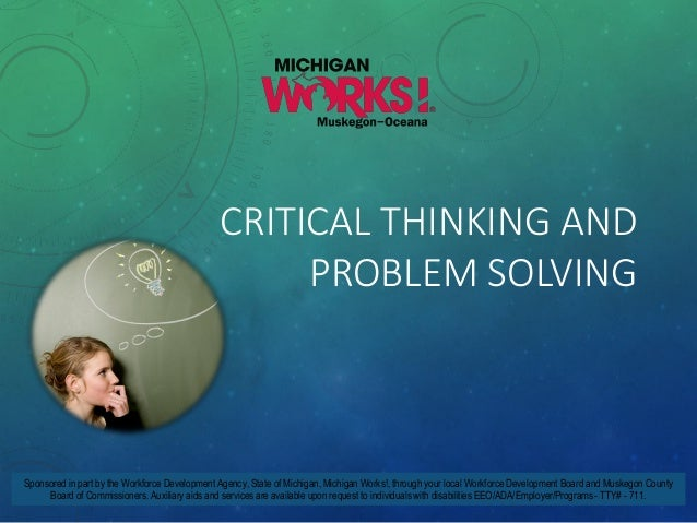 Overview of Critical Thinking Skills