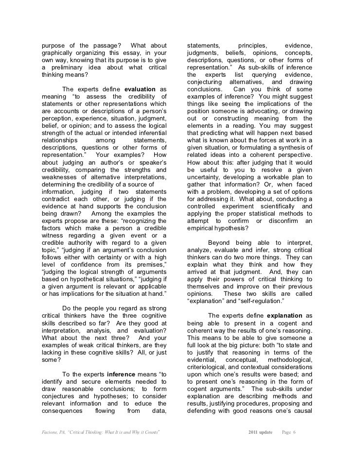 which of the cognitive skills in critical thinking has Chapter 11- blended skills and critical thinking nursing school test banks  1  cognitive skills b) interpersonal skills c) technical skills d) ethical/legal skills 21 a student is asked to perform a skill for which he is not prepared when using the method of critical thinking, what would be the first step to resolve the situation.