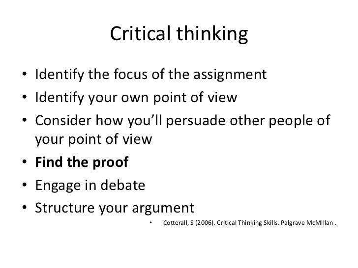 critical thinking skills by stella cottrell ebook
