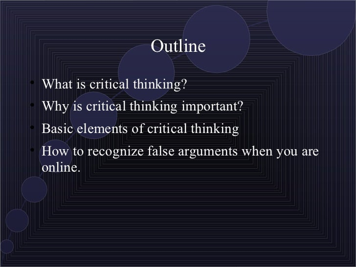 Is technology producing a decline in critical thinking and analysis?