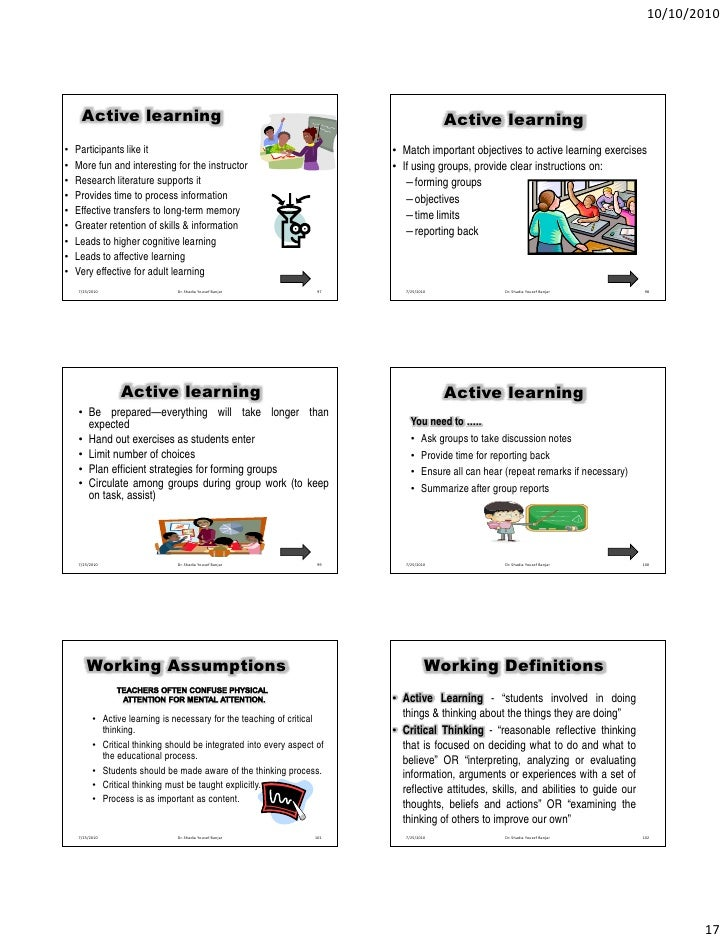 fun exercises for critical thinking Students who are taught good critical thinking skills grow into life long learners, productive employees, and active and engaged citizens they also tend.