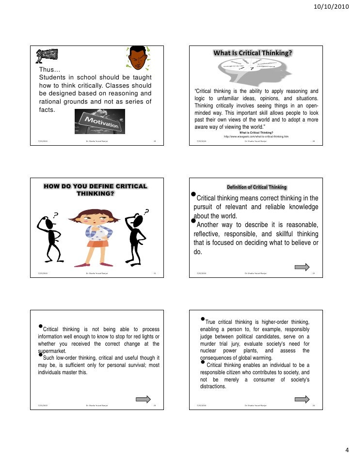 critical thinking challenges for middle school These games will help middle school students explore writing and word meanings as well as encourage critical thinking in reading the games are from such sites as houghton mifflin harcourt, a large international learning company, beacon learning center, merriam-webster, and the adult literacy media alliance.