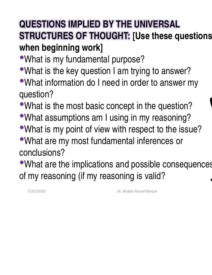 chemactivity 28 critical thinking questions