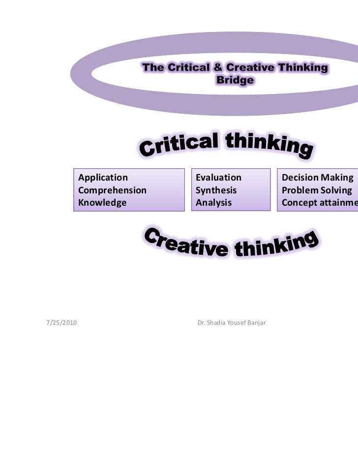 Critical reasoning and creative thinking standards help for Extra mural meaning