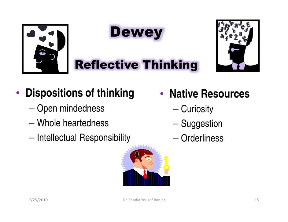 critical thinking dispositions