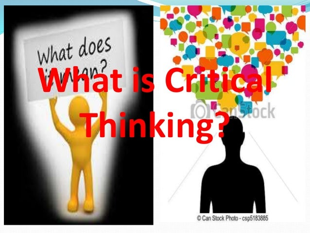 students are expected to develop critical thinking skills The bloom taxonomy 25 is a hierarchy of thinking skills that ranges from simple skills, such as knowledge, to complex thinking, such as evaluation depending on the initial words used in the question, students can be challenged at different levels of cognition.