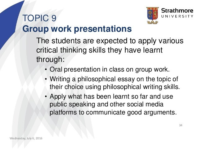 powerpoint presentation developing critical thinking Using active learning instructional strategies to create excitement and enhance learning jim eison though a well-crafted and captivating lecture presentation would seem to be an especially time efficient the ubiquitous use powerpoint slides during.