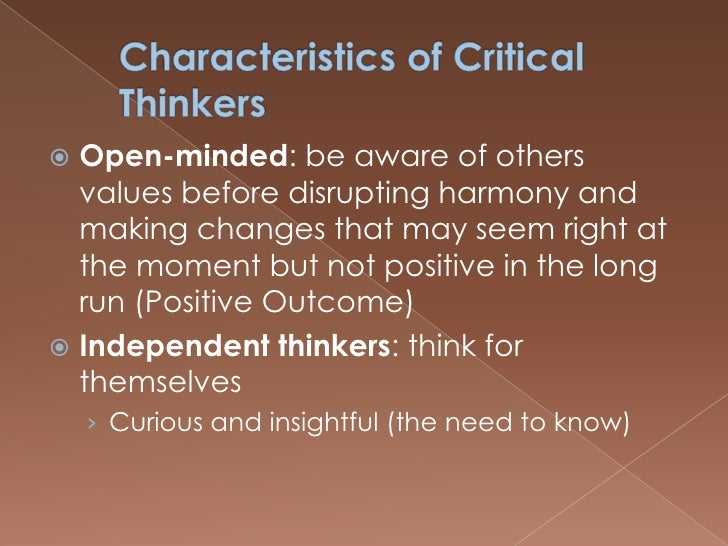 7 Qualities of Creative Thinkers