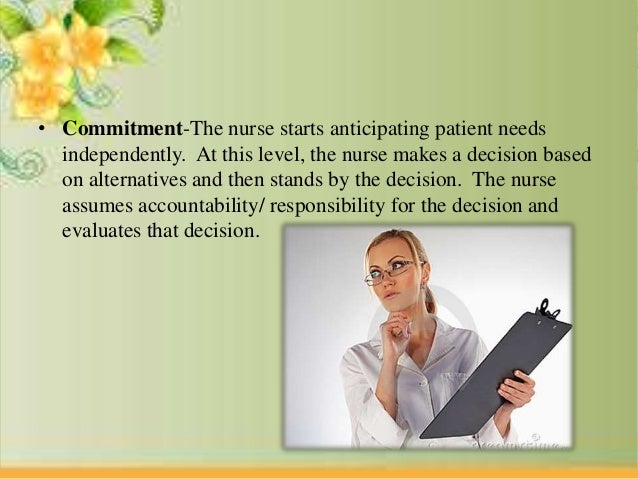 Commitment to pursue a career in nursing essay