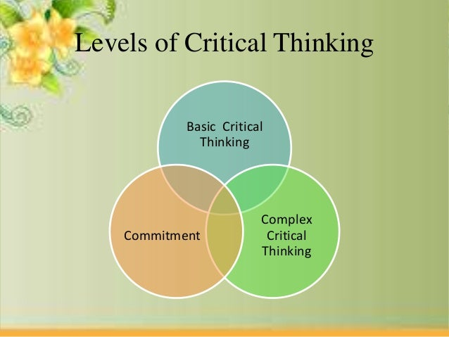 analytical and critical thinking definition