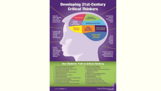 critical thinking in 21st century america essay Anthony weston (born 1954) is an american philosopher he is author of widely used primers in critical thinking and ethical practice and has a 21st century.