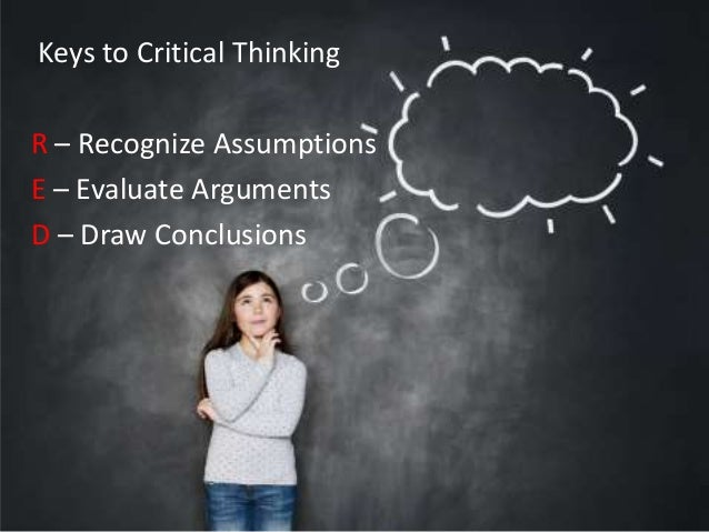 stages of critical thinking ppt