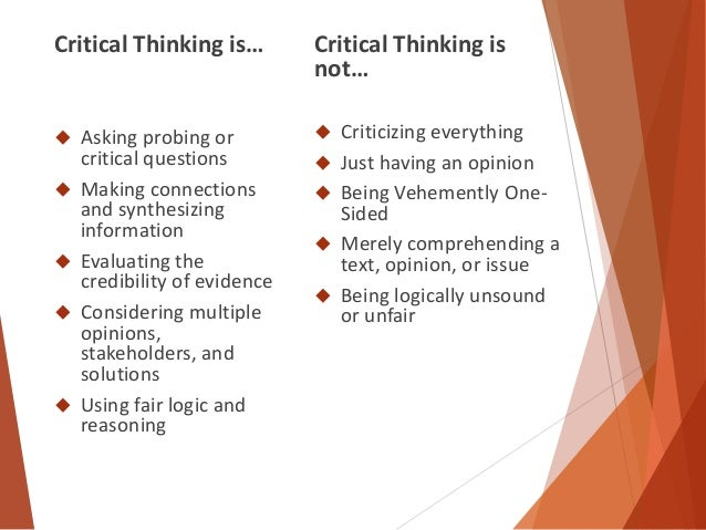 critical thinking ethics